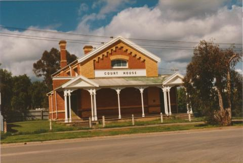 Wycheproof Court House, 1980