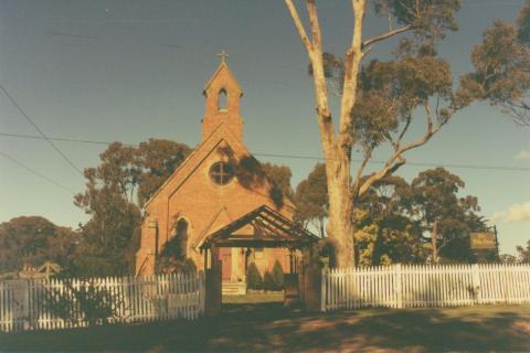 Campbells Creek Church, 1980