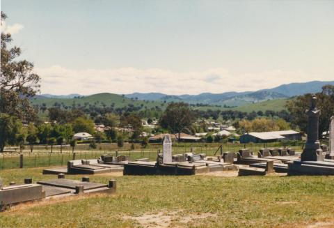 Cemetery, Corryong, 1980