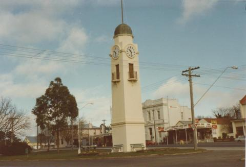 Clocktower, Woodend, 1980