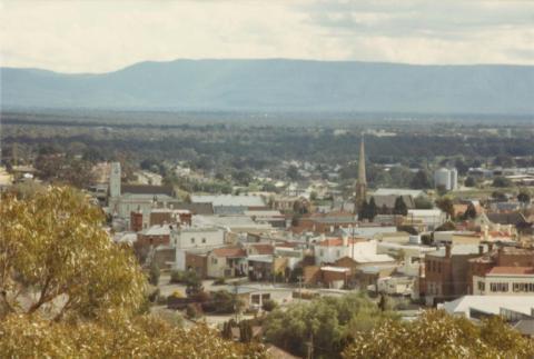 Overlooking Stawell, 1980