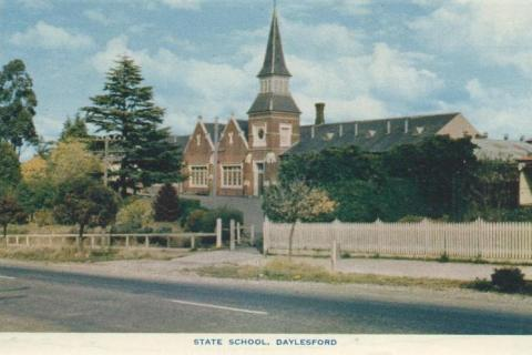 State School, Daylesford, 1957