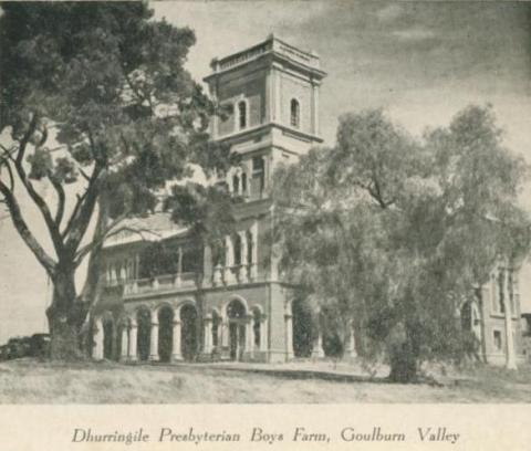 Dhurringile Presbyterian Boys farm, Goulburn Valley, 1953