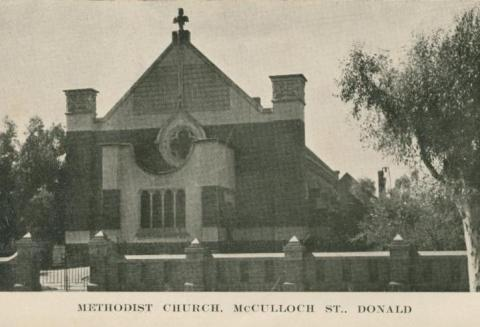 Methodist Church, McCulloch Street, Donald, 1949