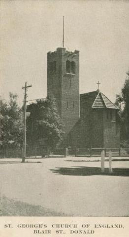 St George's Church of England, Blair Street, Donald, 1949