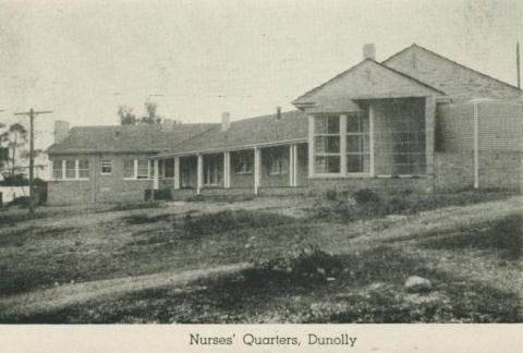 Nurses' Quarters, Dunolly