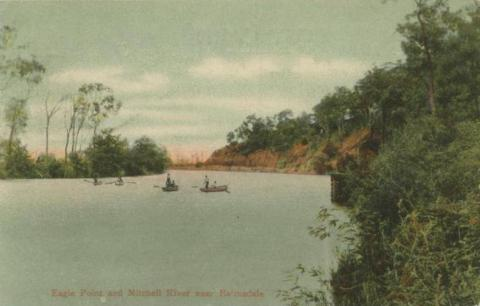 Eagle Point and Mitchell River near Bairnsdale, 1907