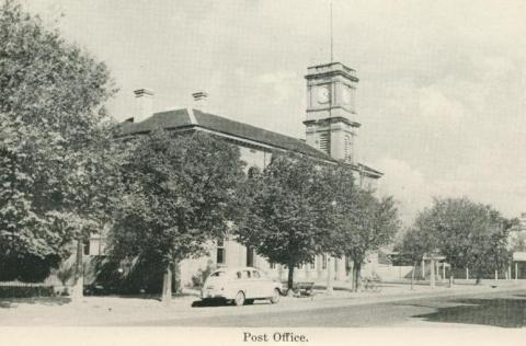 Post Office, Echuca, 1955