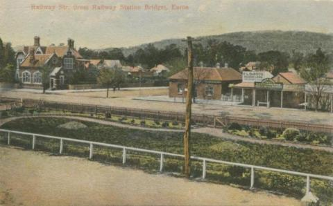 Railway Station (from Railway Station bridge) Euroa