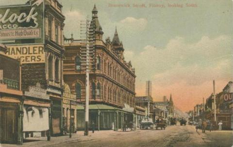 Brunswick Street, Fitzroy, looking south