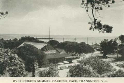 Overlooking Summer Gardens Cafe, Frankston