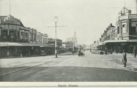 Ryrie Street, Geelong, 1948