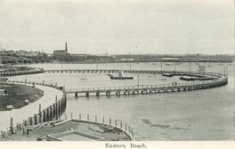 Eastern Beach, Geelong, 1948