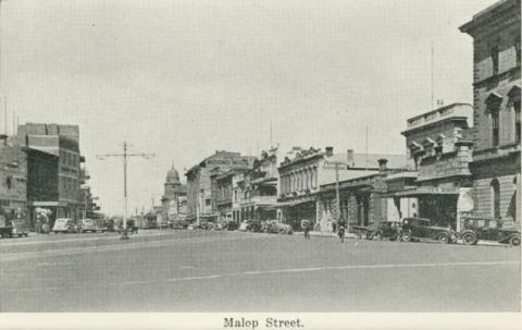 Malop Street, Geelong, 1948