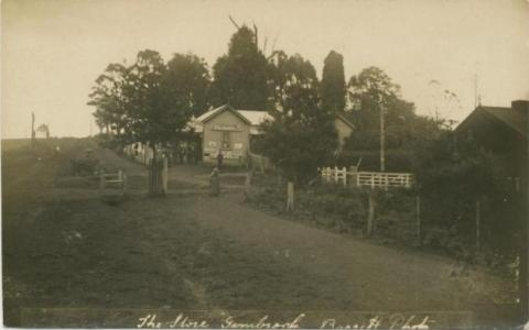 The Store, Gembrook, 1918