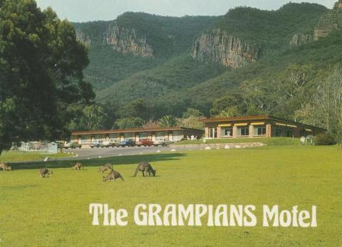Grampians Motel, Halls Gap, 1984