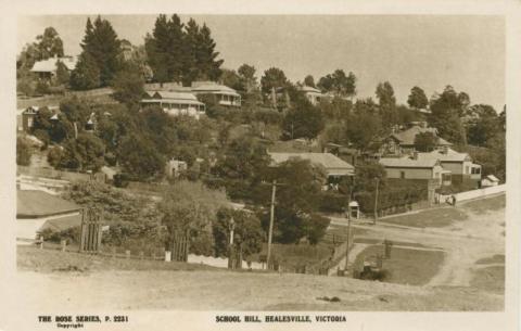 School Hill, Healesville