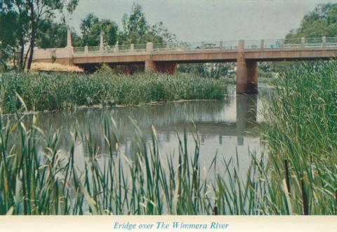 Bridge over the Wimmera River, Horsham