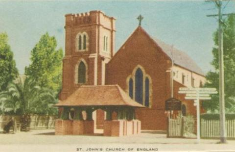 St John's Church of England, Horsham, 1951