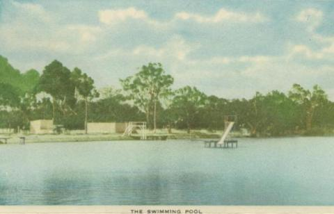 The Swimming Pool, Horsham, 1951