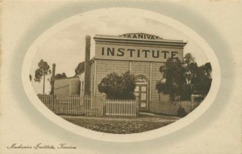 Mechanics Institute, Kaniva