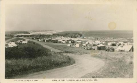 View of the Camping Area, Kilcunda