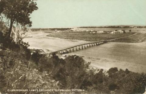 Cunninghame Lakes Entrance, 1905
