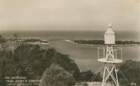 The Entrance from Jemmy's Lookout, Lakes Entrance