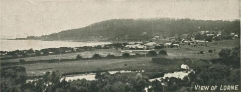 View of Lorne, 1905