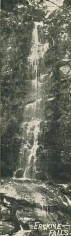 Erskine Falls, Lorne, 1905