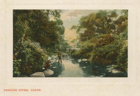 Erskine River, Lorne, 1908