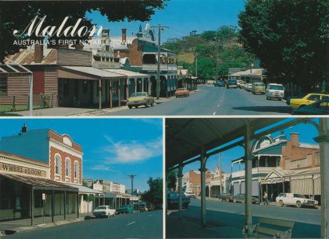 Maldon, Australia's first notable town
