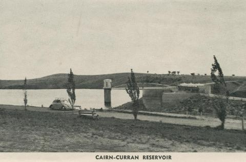Cairn-Curran Reservoir, Baringhup, 1959