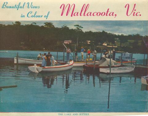 The lake and jetties, Mallacoota