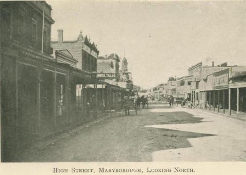 High Street, Maryborough, looking North