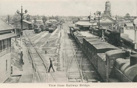 View from Railway Bridge, Maryborough