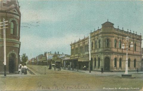 Puckle Street, Moonee Ponds, 1906