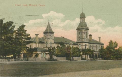 Town Hall, Moonee Ponds, 1908