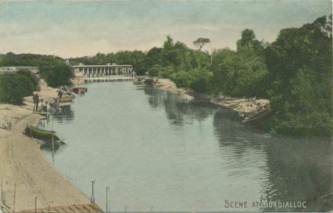 Scene at Mordialloc, 1906
