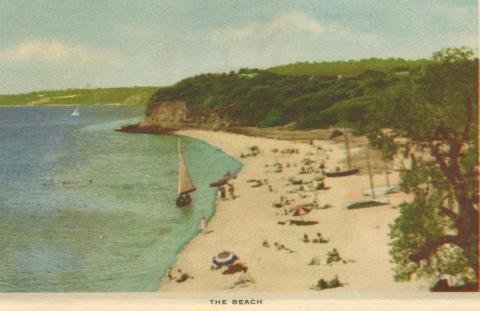 The Beach, Mornington, 1951