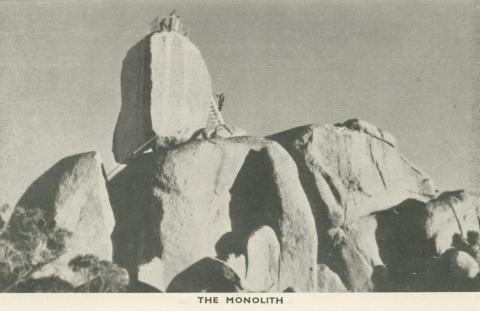 The Monolith, Mount Buffalo, 1953