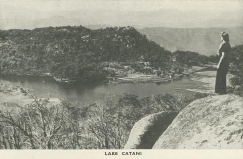 Lake Catani, Mount Buffalo, 1953