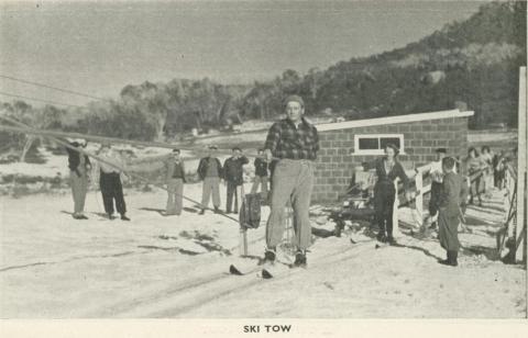 Ski Tow, Mount Buffalo, 1953