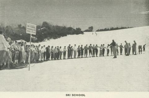 Ski School, Mount Buffalo, 1953