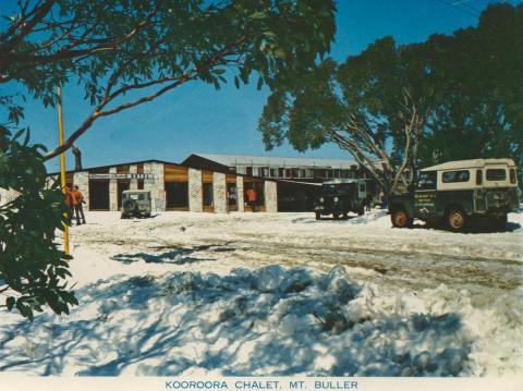 Kooroora Chalet, Mount Buller, 1974