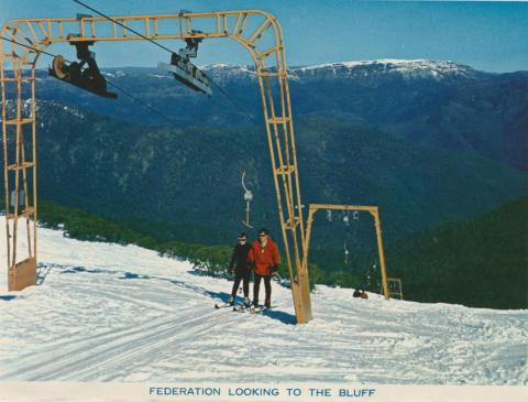 Federation Looking to the Bluff, Mount Buller, 1974