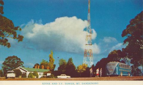 Kiosk and TV Tower, Mount Dandenong