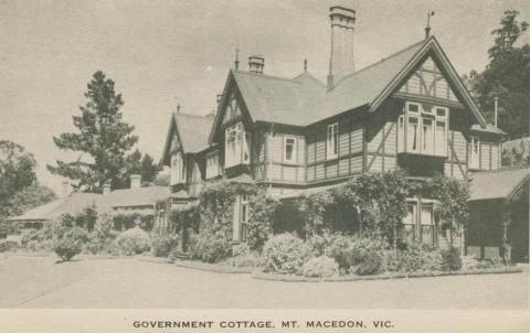 Government Cottage, Mount Macedon, 1949