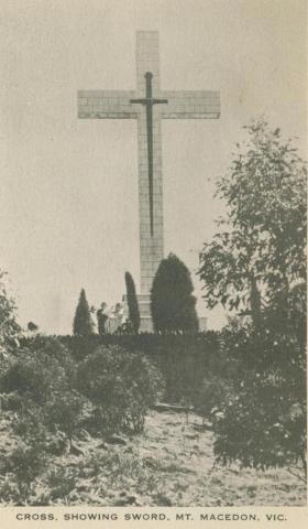 Cross, Showing Sword, Mount Macedon, 1949