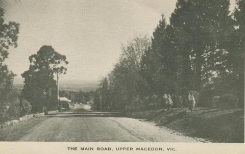 The Main Road, Upper Macedon, 1949